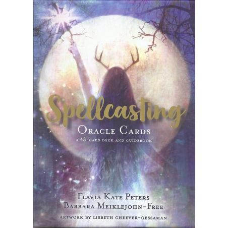 Spellcasting Oracle Cards - Barbara Meiklejohn-Fee & Flavia Kate Peters (UK)