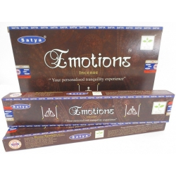 """12 Packungen """"Emotions"""" Räucherstäbchen (Satya) 15 g"""