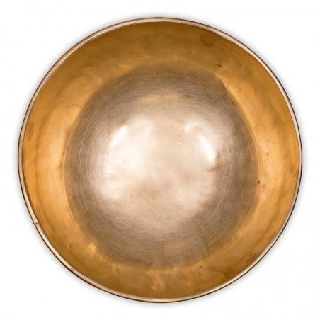 Chö-pa handgemaakte klankschaal ± 22 a 23 cm (± 1450-1550 gram)