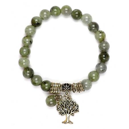 Labradorite Tree of Life bracelet