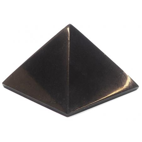 Black tourmaline pyramid (4cm)