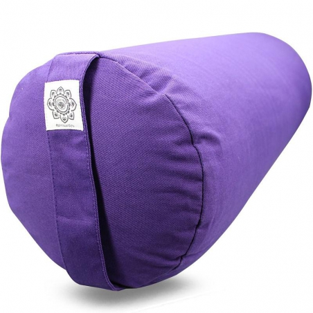 Bolster canvas Flower of Life purple