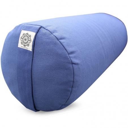 Bolster canvas Lotus light blue
