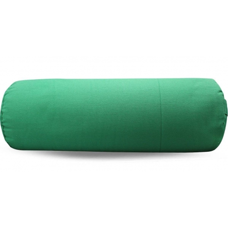 Bolster canvas solid green