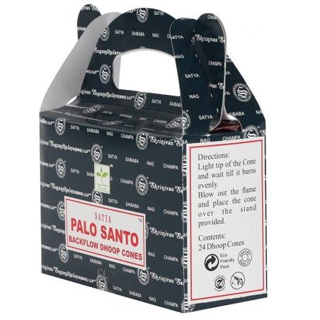 6 packs Palo Santo Backflow incense cone (Satya)
