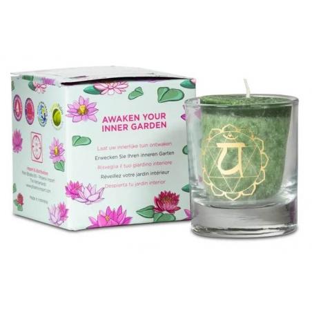 4th chakra Anahata scent candle