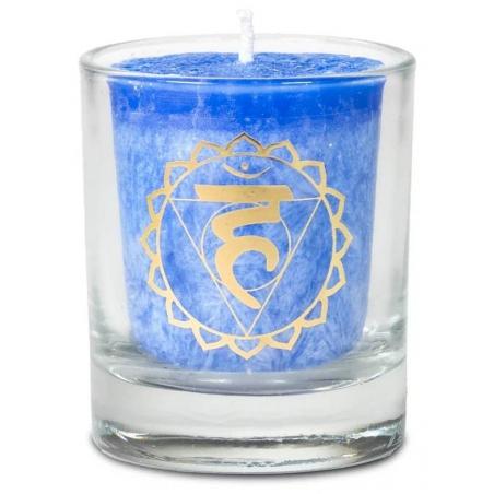 5th chakra Vishudda scent candle