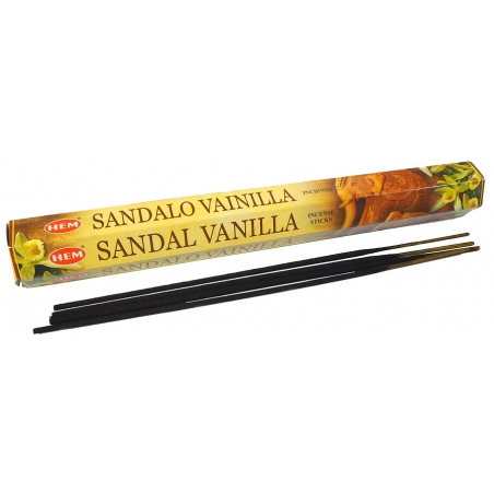 Sandal Vanilla incense (HEM)