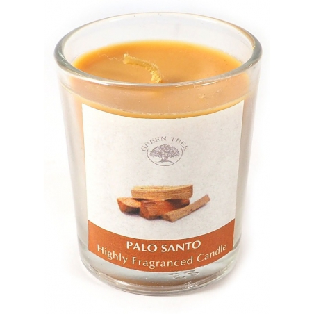 Palo Santo votive scented candle