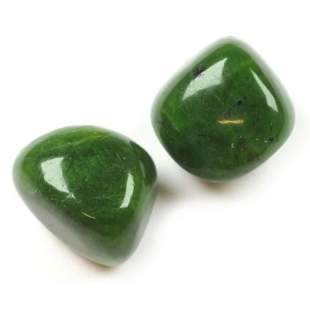 Nephrite Jade tumbled stone 25-40mm