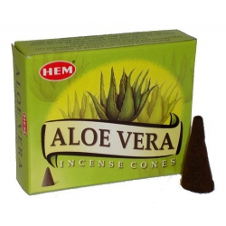 Aloe Vera Kegelwierook (HEM)