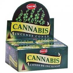 Cannabis Kegel wierook (HEM)