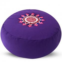 Meditatiekussen - OHM Lotus gekleurd