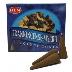 Frankincense / Myrrh Kegel wierook (HEM)
