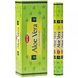6 pakjes Aloe Vera wierook (HEM)