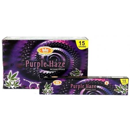 12 pakjes Purple Haze wierook (BIC)