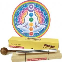 Chakra Healing klankstaaf - 1e chakra