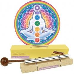 Chakra Healing klankstaaf - 7e chakra (crown)