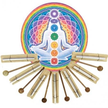 Chakra Healing klankstaven set - chakra 1 t/m 7