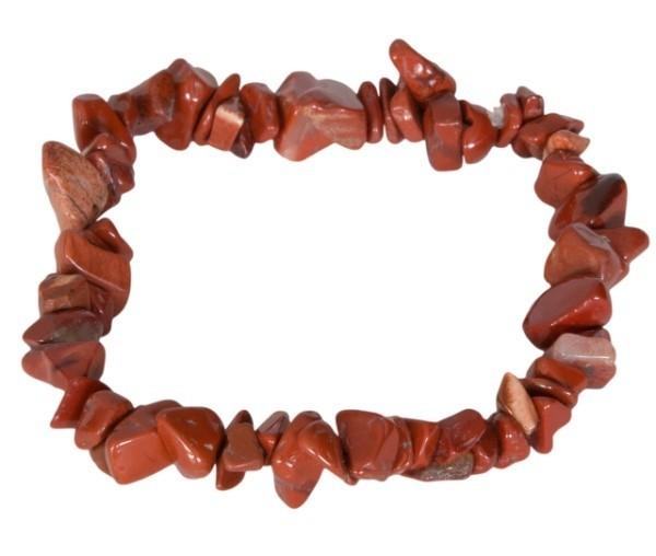 Rode Jaspis edelsteen splitarmband