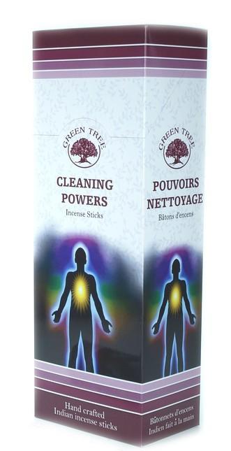 6 pakjes Cleaning Powers wierook (Green Tree)