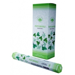 6 pakjes Patchouli wierook (Green Tree)