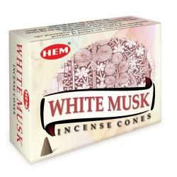 White Musk Kegelwierook (HEM)