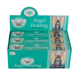 12 pakjes Angel Healing wierook (Green tree)