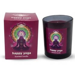 Geurkaars Happy Yoga