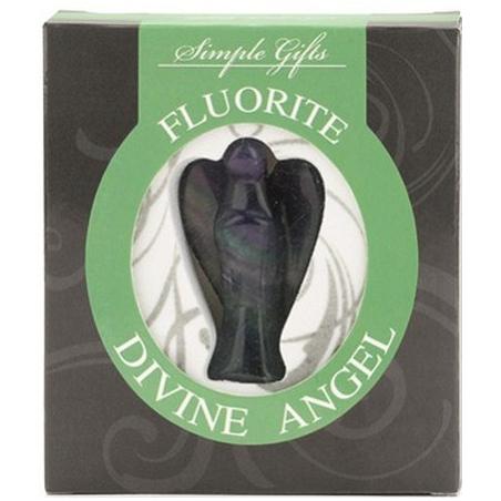 Standing Angel Fluorite (5cm)