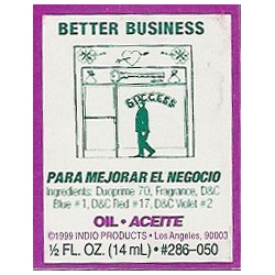 Better Business - Indio Spiritual Oil