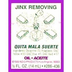 Jinx removing - Indio Spiritual Oil