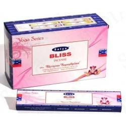 12 pakjes Bliss wierook (Satya) 15 gms