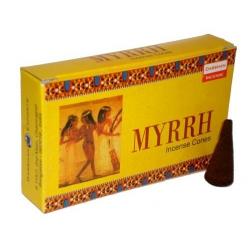Myrrh / Mirre - Kegelwierook (Darshan)