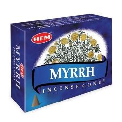 Myrrh Kegelwierook (HEM)