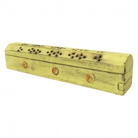 Incense Burner Ying Yang (Yellow)