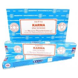 12 pakjes Karma wierook (Satya)