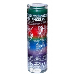 7 (Seven) Angels candle/13 Sacred Cherubs
