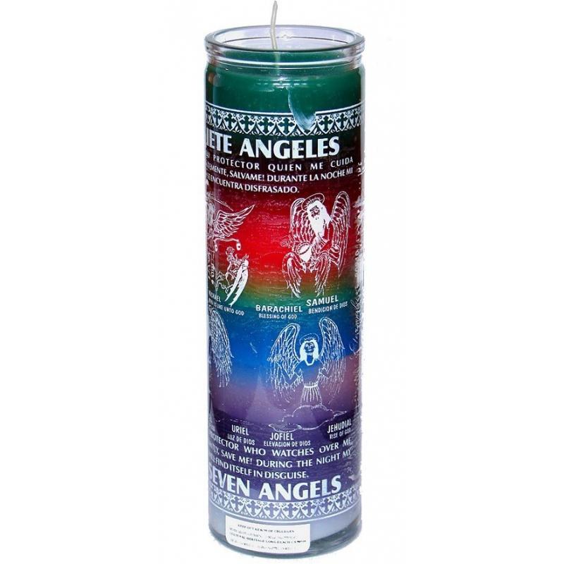 7 (Seven) Angels kaars / 13 Sacred Cherubs