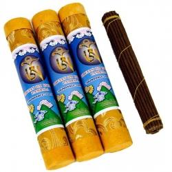 """Zambala"" Tibetan incense in luxurious Brocade makers"