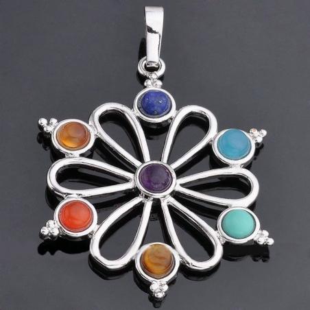 7 chakra Flower symboolhanger