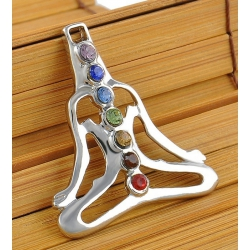 7 chakra Tree of life symboolhanger