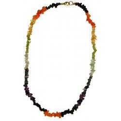 Edelstein Halskette-Chakra