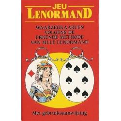 Lenormand waarzegkaarten - Aimée Zwitser (NL)