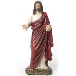 Jesus met open handen
