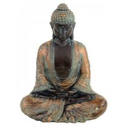Japanse Boeddha in meditatie