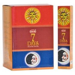 7 Days wierook (HEM)