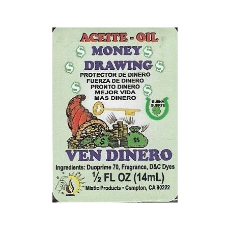 Money Drawing-Indio Spiritual Oil