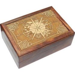 Tarotdoos - Pagan Calendar gegraveerd