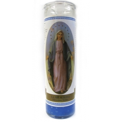 Holy mary candle